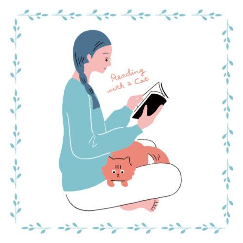 オリジナルイラスト:猫と生活