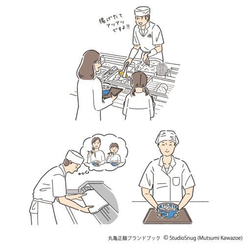 丸亀正麺 ブランドブック