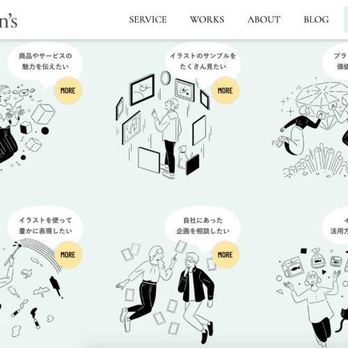 クリエイティブプロダクションCotton's ウェブサイト